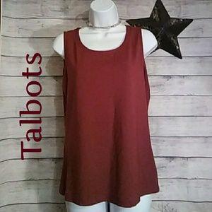 Talbots Sleeveless Top